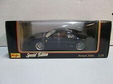 Maisto Special Edition 1990 Ferrari 348TS (black) 1/18