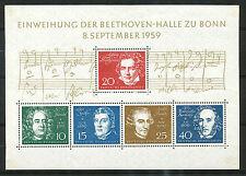 Bundespost blok  2 ongebruikt (2)