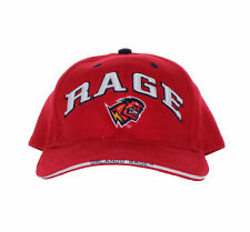 XFL - Orlando Rage - Vintage Text and Logo on YOUTH Red Adjustable Hat
