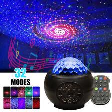 LED Sternenhimmel Nachtlicht Projektor Lampe mit Musik Kinder Baby Erwachsene
