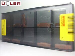10 STK SANDVIK N123G2-0300-0004-TM 1125 WENDEPLATTEN WENDESCHNEIDPLATTEN