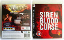 SIREN BLOOD CURSE ~ PS3 (in Great Condition)