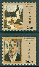 Art, Artists Single Alandic Stamps