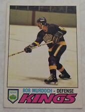 1977-78 OPC O-Pee-Chee Bob Murdoch Card 371