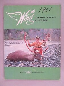 Wing Archery CATALOG - 1962