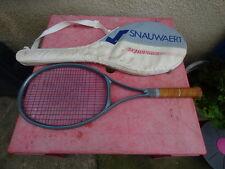 raquette de tennis Snauwaert Dyneema S60  avec housse  racquet vintage L4 1/2