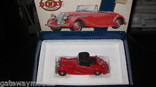 MATCHBOX DINKY 1.43  DY-S 17 1939 TRIUMPH DOLOMITE  RED SPECIAL EDITION