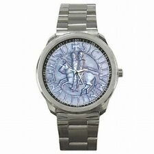 Templar Knights Holy Cross Medieval Seal Stainless Steel Watch