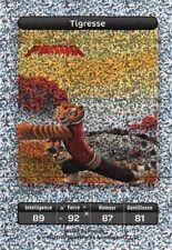 Carte Carrefour Dreamworks - kung fu panda - Tigresse Titane N°115