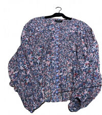 Isabel Marant Orionea Blue Silk Blouse. BNWT. Size FR34/UK6 Sold Out!!