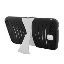 For Samsung Galaxy Tab 3 7.0 HYBRID Hard Gel Rubber KICKSTAND Case Phone Cover