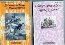 C1 NAPOLEON Parquin AMOURS ET COUPS DE SABRE CHASSEUR A CHEVAL Complet 2 Volumes