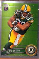 2011 Topps Chrome Rookie Card - ALEX GREEN #149 - Packers RC