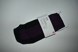 NWT Lululemon Training Tough Sock M/L Knee High Purple/Black Gym NEW Knee High