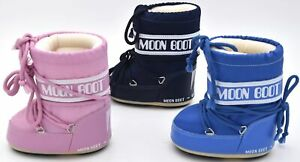MOON BOOTS BABY GIRL BOY UNISEX SNOW BOOTS BOOTIES CASUAL SHOES CODE MINI NYLON