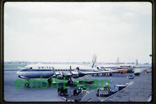 "Original Slide, United Air Lines Douglas DC-7 (N6332C ""Mainliner Burbank""), 1959"