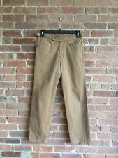 c25f2d9dae SuitSupply Men's Khaki Pants Sz 46 EU/30 X 29 US, Side Belts,