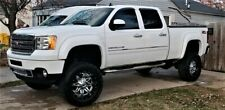 Paintable 07-13 GMC Sierra 1500 Smooth Extended Fender Flares 69.3 Short Bed