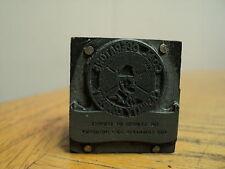 Vintage Coal Operators Casualty Company Printing Press Ink Stamp Block