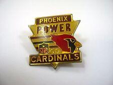 Vintage Collectible Pin: Phoenix Power Go Cardinals Nfl Phoenix Cardinals