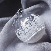 6Pcs Christmas Ball Bauble Xmas Tree Hanging Ornament New Year Party Home Decor