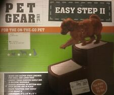 Pet Gear Easy Step II Pet Stairs, 2 Step for Cats/Dogs up to 75-pounds, Portable