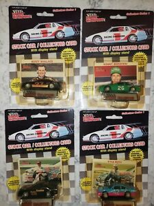Lot of 4 Racing Champions 1989 Edition 1/64 Scales including Davey Allison