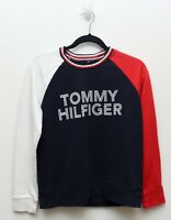 VTG Tommy Hilfiger Women Crew Neck Sweater Red, White, Blue Size S Small