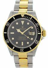 Rolex Oyster Perpetual Submariner Date 16613 Mens Watch