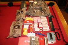 SURVIVAL GEAR FLASHLIGHT MULTI TOOL BACKPACK MILITARY CANTEEN FIRST AID MRE