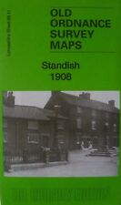 Old Ordnance Survey Map Standish  Lancashire  1908 Sheet 85.11 New