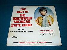 "MATTIE MOSS CLARK  ""Best of SW Michigan St. Choir"" VG++ 2 LP : Savoy SGL-7032"