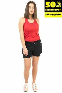 ONLY Training Shorts  S  Stretch Breathable Quick Dry Layered Drawstring Waist