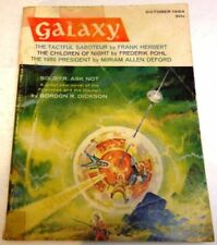 October Vintage Paperback Sci-Fi Magazines in English