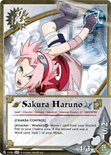 1x Sakura Haruno [Chakra Control] 1256 S22 Naruto CCG TCG NM/M