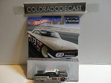 Hot Wheels Racing 2012 Stockcar Black/White '56 Merc w/Real Riders