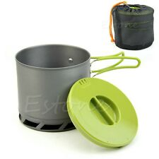 Portable New Outdoors Camping Cookware Backpacking Cooking Picnic Pot Pan