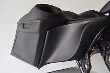 Vivid Black Hard Saddle Bags Speaker Lid Key For Harley Sportster Dyna Softail Touring Road King 94-13 Road King Glide Ultra 94- Home