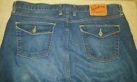 Mens Lucky Brand Rivington straight leg jeans size 38 x 31