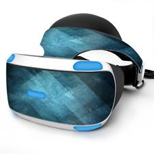 Skin Wrap for Sony Playstation PSVR Headset Blue Grunge