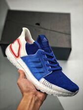 ADIDAS ULTRABOOST 19 WHITE/BLUE/RED 2019 July 4th Release $180 EF1340 Double Box