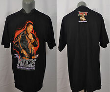 VTG WWF The Rock of All Ages T-Shirt Wrestling Dwayne Johnson WWE NWO WCW