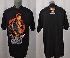 VTG WWF The Rock of All Ages T-Shirt Wrestling Dwayne Johnson WWE NWO WCW