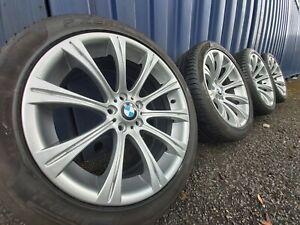 GENUINE BMW M5 19'' INCH STYLE 166 M ALLOY WHEELS 3 5 6 7 SERIES E90 E92 E60 F10