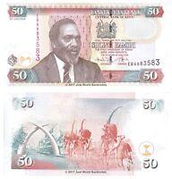 Kenya 50 Shillings 2010 P-47e Banknotes UNC