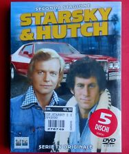 cofanetto box 5 dvd serie tv starsky & hutch seconda stagione david soul, glaser