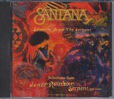 Santana Dance Of The Rainbow Serpent Sampler Audio CD
