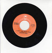"""Charlie RICH Vinyl 45T 7"""" I FEEL LIKE GOING HOME - THE MOST BEAUTIFUL GIRL RARE"""