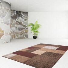 Alfombras de color principal marrón dormitorio para pasillos
