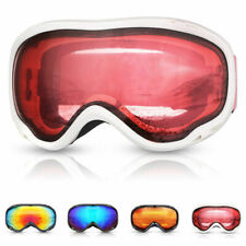 Anti-fog Ski Goggles Skiing Glasses Snow Eyewear Snowboarding Uv400 Double Lens